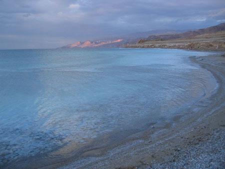 Coucher du soleil à la mer morte © carolina diaz ( 21 photos )