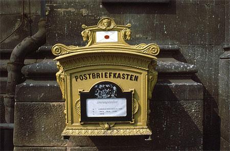 boîte au lettre de l'ambassade Pt31889