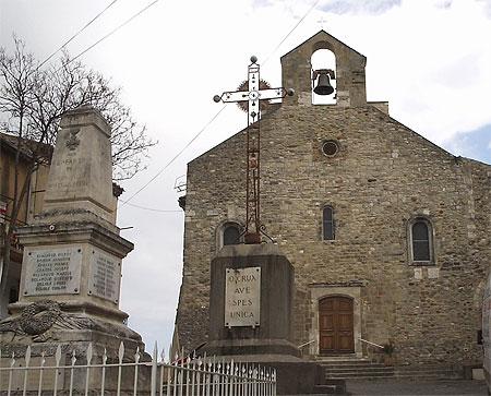 St-Julien-de-Peyrolas, l'église