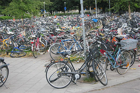 vélo en suède