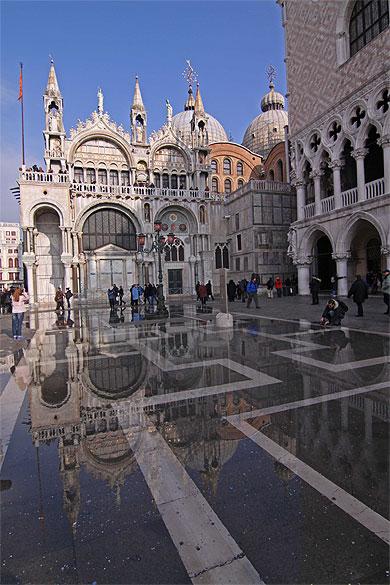 le miroir de venise eglise basilique saint marc