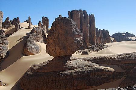 Roches et dunes