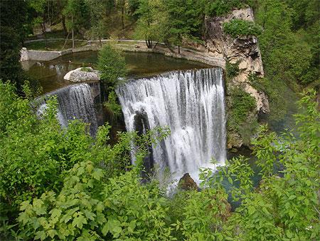 chutes de Kravica sur la rivière Trebižat Pt106180