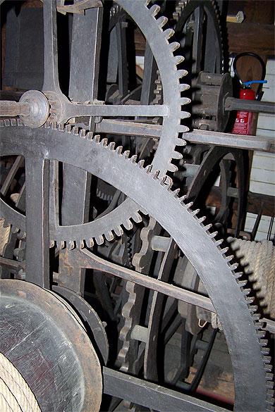 Mecanisme gros horloge rouen