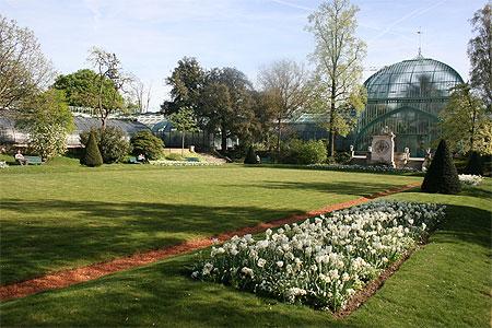 Le tr s beau jardin des serres d 39 auteuil jardin des for Jardin 16eme