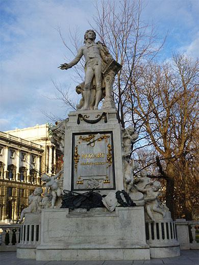 Monument Mozart   Statues   Burggarten   Ringstrasse Et