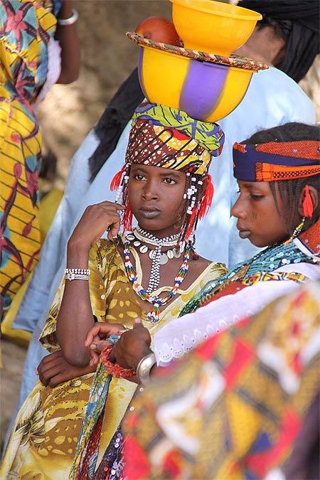 Jeune fille peule à Marcoye