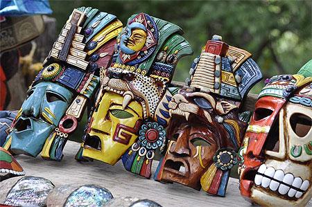 Mayas Masques Les Mayas Masques et Souvenirs