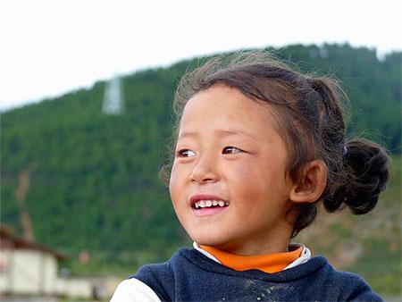Petite fille tibétaine © Noëlle VIONNET ( 2375 photos )