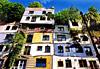 Hundertwasserhaus (Maison de Hundertwasser) - Vienne
