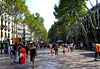 La Rambla - Barcelone