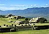 Zona arqueológica Monte Albán - Mexique