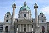 Karlskirche (Église Saint-Charles) - Vienne