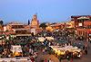 Place Jemaa-el-Fna - Marrakech