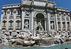 Fontana di Trevi (Fontaine de Trevi) - Rome
