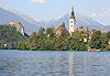 Lac de Bled (Blejsko jezero) - Slovénie