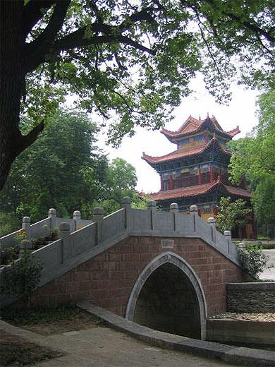 Le plus beau temple de Wuhan