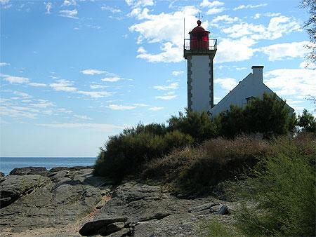 Le phare de la Pointe des Chats - île de Groix