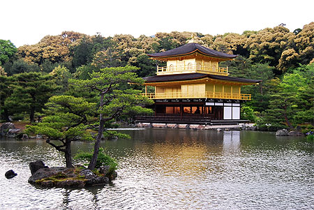 Un soir au Kinkaku-ji