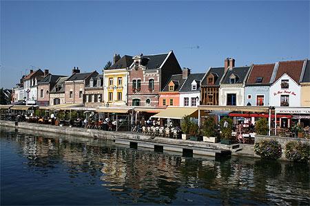 Quartier Saint Leu à Amiens