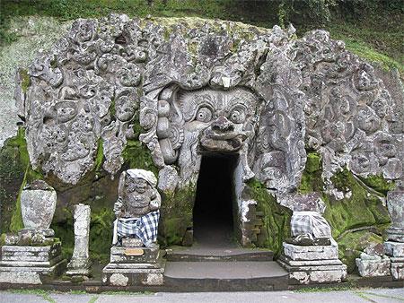 Goa Gajah, la grotte de l'éléphant, à Bali