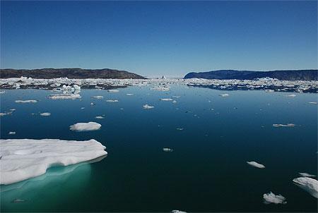 La calotte de glace du Groenland érodée par les courants marins (étude)