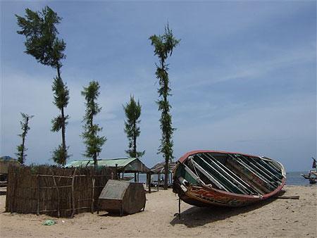 Petit port de pêche de Nianing