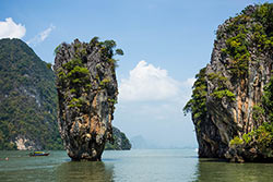 Baie de Phang Nga. Gregg Tavares - Flickr - CC BY 2.0