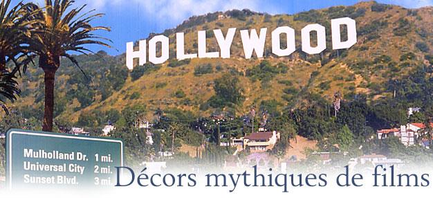 Décors mythiques de films