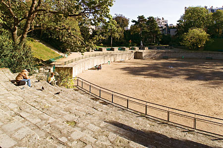 Arènes de Lutèce © Marc Bertrand / Office de tourisme de Paris