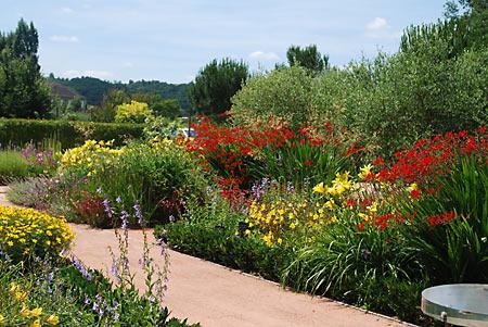 Les jardins de Colette à Varetz © Office de Tourisme de Brive et son Pays