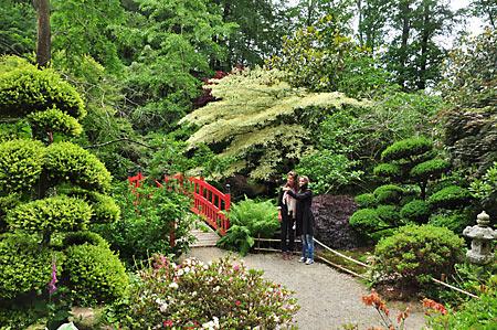 Parc floral de Haute Bretagne à Le Chatellier