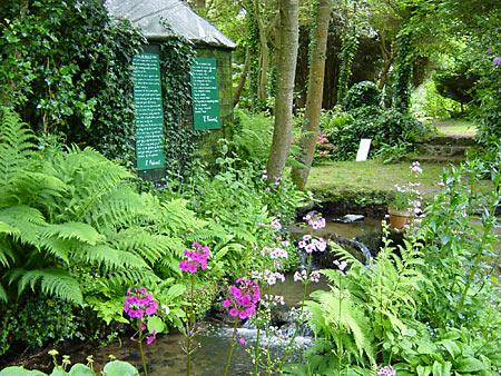 Jardin en hommage à Jacques Prévert à Saint-Germain-des-Vaux © OT la Hague