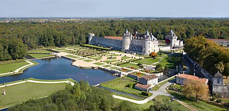 Jardins du château de la Roche-Courbon