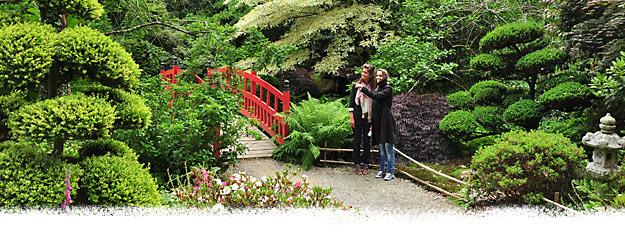 Beaux jardins de France - Photo : © Parc Botanique de Haute Bretagne