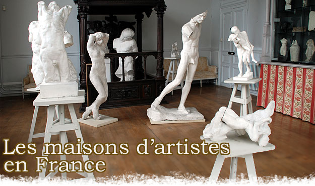 Les maisons d'artistes en France © Photo Anne-Marie-Minvielle
