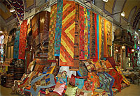 Grand bazar d'Istanbul © Jean-Noël