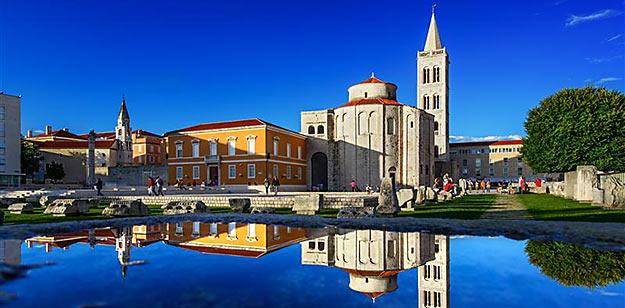 Le meilleur de la Croatie. Photo : Zadar © Aleksandar Gospić - ONT Croatie