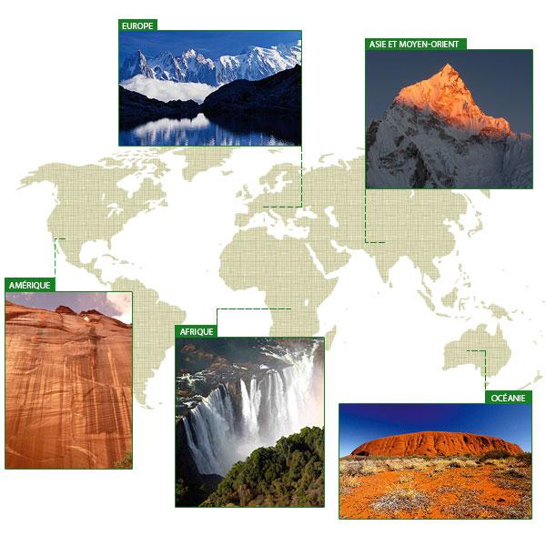 Les 50 merveilles naturelles du monde