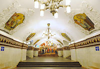 Métro de Moscou. Tim Adams - Flickr - CC BY 2.0