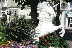 La licorne de Saint-Lô © Office de Tourisme de St-Lô Agglo