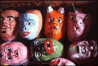 Masques de carnaval du Pernambuco © Banjee