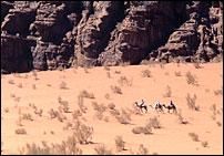 Bédouins en Jordanie