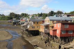 Castro sur l'Île de Chiloé © Bernard Solle