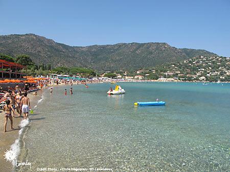 Belles plages de france - Le lavandou office de tourisme ...