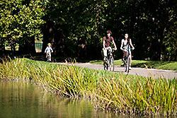Circuit du «du Martin-pêcheur» © Office de Tourisme de Dijon – Michel Joly