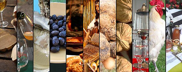 Les routes gastronomiques en France