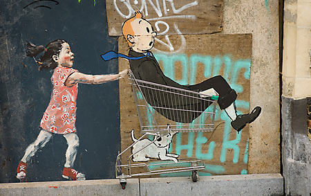 Street Art Bruxelles - nik gaffney / Flickr / CC BY-SA 2.0