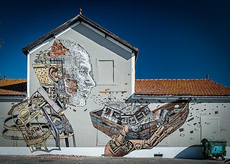 Street Art Lisbonne © Jose Vicente / DPC / CML 2013