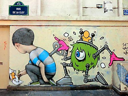 Street Art de Seth © jan-clod